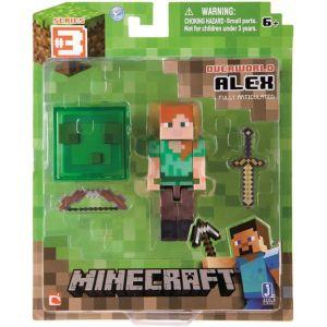 Giochi Preziosi 2451 - Figurine avec accessoires Alex Minecraft (8 cm)