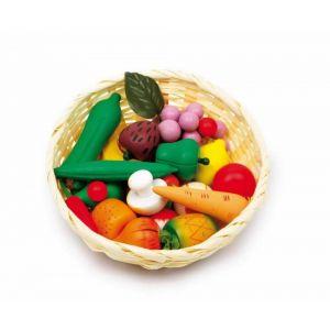 Image de Legler Panier tréssé et ses légumes