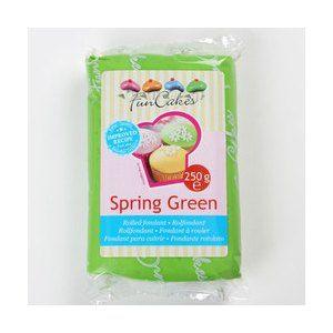 FunCakes Pâte à sucre - vert - 250g