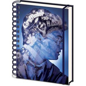 """Harry Potter Sr72499 A5 """"Magic Portrait 3d Coque"""" carnets de notes à spirales"""