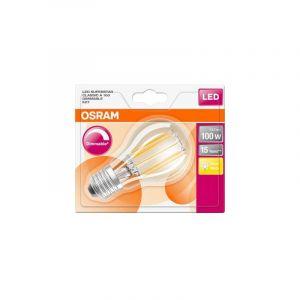 Osram Ampoule LED | Culot E27 | Blanc chaud | 2700 K | 12 W équivalent 100 W | LED Retrofit | Forme standard | Dimmable