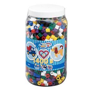 Hama Pot de 1400 perles à repasser