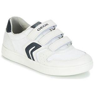 Geox J Djrock B, Sneakers Basses Garçon, Blanc (White/Navy), 38 EU