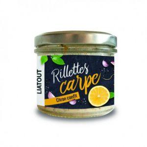 Liatout Aquaculture Rillettes de Carpe aux citrons confits 180 gr