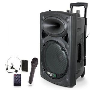 Ibiza Sound Ibiza PORT15UHF-BT Enceinte Portable 800 W Noir