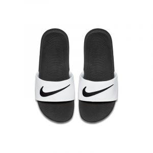 Nike Claquette Kawa pour Jeune enfant/Enfant plus âgé - Blanc - Taille 32