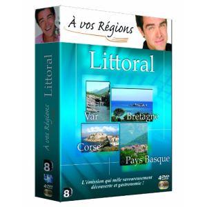 A vos régions : Coffret Littoral 4 DVD