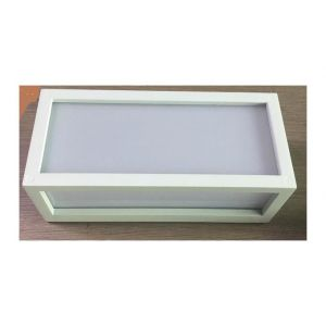 Lo Design Applique extérieure design Blanc 01 Fonte d'aluminium LO00015604