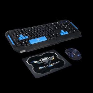 Spirit of Gamer Pro-MK6 - Pack Clavier + Souris et Tapis Gamer