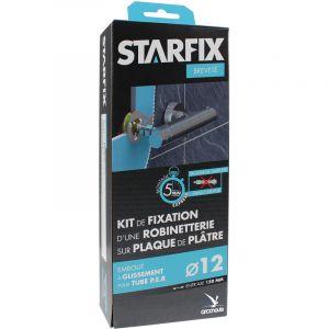 """Arcanaute Sortie de cloison STARFIX PER Ø12 Raccords à Glissement - Femelle 1/2"""""""" (15/21) pour robinetterie entraxe 150 mm"""
