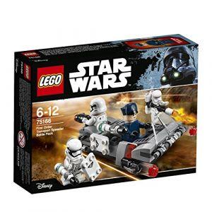 Lego 75166 - Star Wars : Pack de combat le Speeder de transport du Premier Ordre