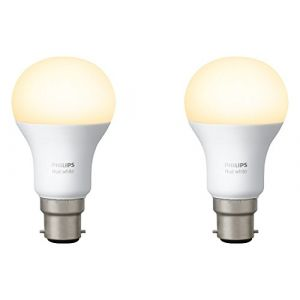 Philips Hue Pack de 2 ampoules White B22