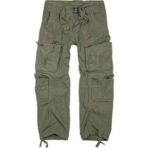 Brandit Pure Vintage Jeans/Pantalons Vert olive 7XL