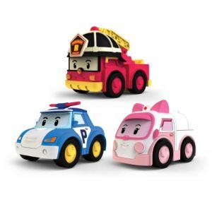 Ouaps Robocar Poli : 3 véhicules à friction