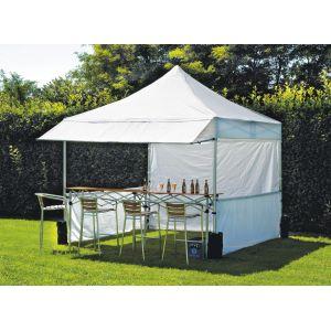 Chapiteau-tente professionnelle marché carré 3 x 3 m