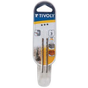 Tivoly 10900220900 - Foret béton pro Ø 9 mm