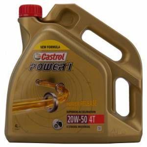 Castrol Power 1 4t 20w50 - Conditionnement - Bidon De 4 L - Neuf