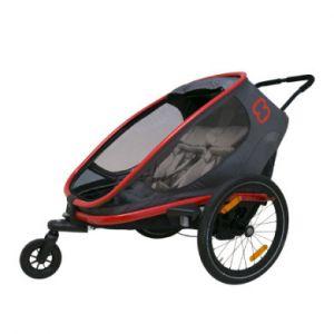 Hamax Remorque vélo Out back - Rouge/Gris Remorques vélo enfant