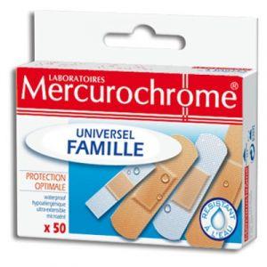 Mercurochrome Pansements famille - Boite de 50