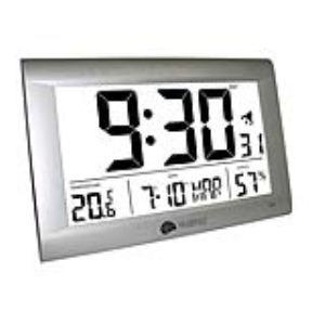 La Crosse Technology WS8009 - Station météo murale écran géant pour température intérieure