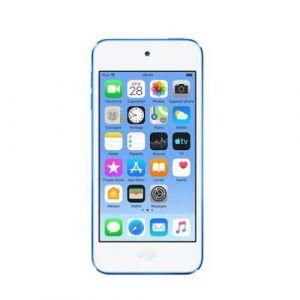 Apple Lecteur audio vidéo MP3-MP4 iPod touch 256GB Bleu