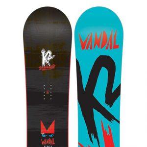 K2 Sports Vandal Wide 2017 - Planche de Snowboard