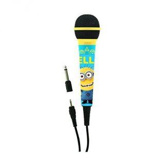 Lexibook MIC100DES - Microphone dynamique les Minions