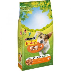 Friskies Croquettes pour chien adulte Poulet & Légumes ajoutés 2 kg - Lot de 6 (12 kg)