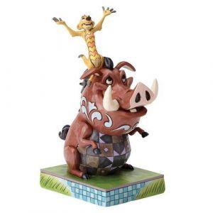 Enesco Figurine Timon et Pumba Le Roi lion
