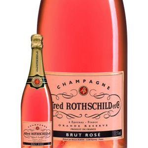 Image de Alfred Rothschild Champagne - Rosé - 75 cl 12,5 %