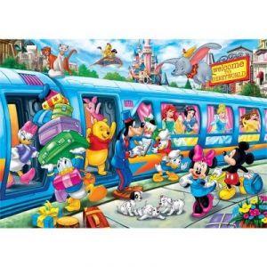 Clementoni Disney Train - Puzzle 24 pièces maxi