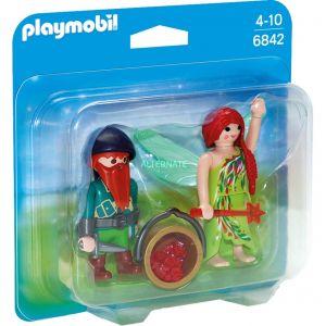 Playmobil 6842 - Pack duo elfe et nain