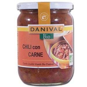 Danival Chili con carne au boeufd'origine française 525 g