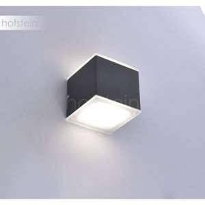 Paul neuhaus Applique murale Q-AMIN LED Anthracite, 2 lumières - Moderne - Extérieur