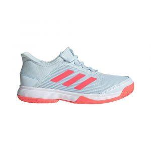 Adidas Adizero Club k, Chaussures de Tennis Mixte Enfant, Matcie/Rossen/FTW Bla, 37 1/3 EU
