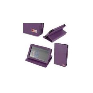 """Duragadget Etui rotatif De Luxe en cuir véritable avec port de maintien pour Kindle Fire 7"""""""