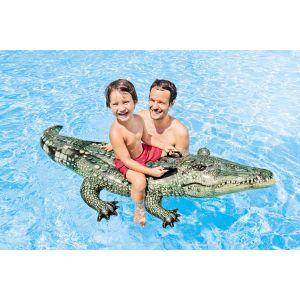 Intex Crocodile gonflable réaliste à chevaucher