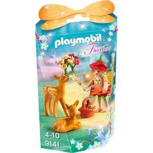 Playmobil 9141 Fairies - Fée avec faons