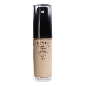 Shiseido Synchro Skin Glow Rose 3 - Teint fluide éclat SPF 20