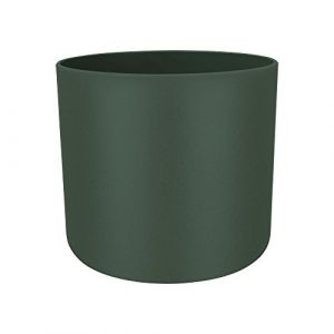 Elho pot de fleurs - b.for soft rond 16cm leaf green - 16 x 16 x 14.9 cm