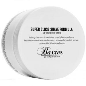 Baxter of california Super Close Shave Formula - Crème à Raser Hydratante pour Homme - 240 ml