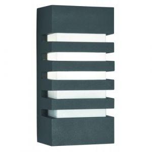 Searchlight Applique Outdoor & Porch, en fonte d'aluminium anthracite et polycarbonate