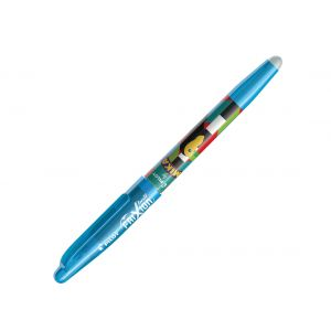 Pilot FriXion Ball - Roller encre thermosensible - Edition limitée Mika - Pointe 0,7 mm - Turquoise
