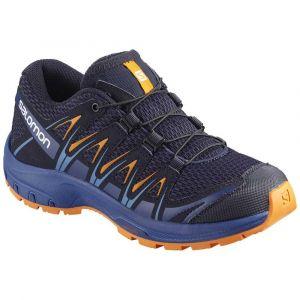 Salomon Chaussures Xa Pro 3d Junior - Medieval Blue / Mazarine Blue Wil / Tangelo - Taille EU 36