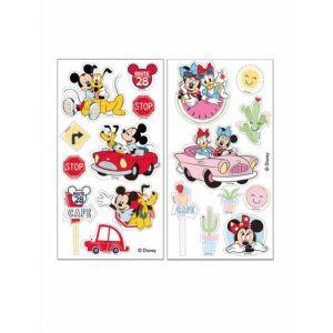 Dekora Feuilles comestibles à découper Mickey et Minnie 18,7 gr Taille Unique