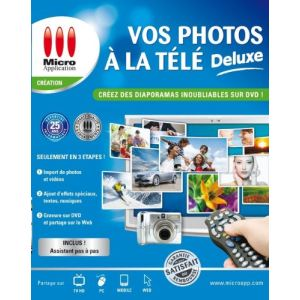 Vos Photos à la TV Deluxe pour Windows