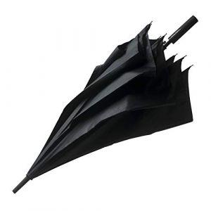 Hugo Boss Parapluie de golf pour homme - Ouverture automatique - Diamètre 110 cm - Noir