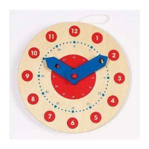 Toys Pure 58980 - Horloge apprendre à lire l'heure