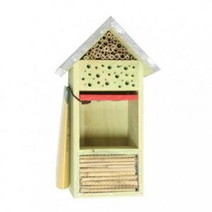 Esschert design Hôtel à insectes en bois (19 x14,5 x 32 cm)