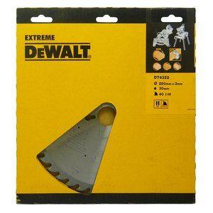 Dewalt DT4322 Lame Ø250 MM pour scie stationnaire